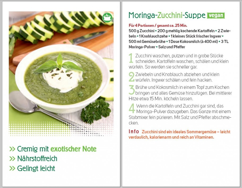 Moringa Superfood Suppe