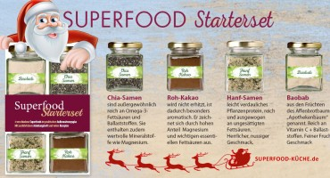 Superfood Starterset mit Nikolaus